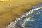 Vague sur la plage PN Port Campbell Victoria Australie