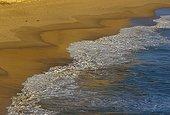 Plage de sable PN Port Campbell Victoria Australie