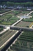Vue d'ensemble du potager du roi Versailles France