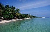 Tropical beach Panglao Island Bohol Sea Philippines