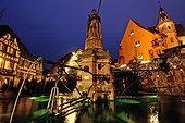 Illuminations de Noël à Eguisheim France