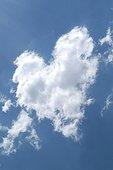 Heart-shaped cloud Pyrenees