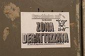 Rat extermination information Capri Italy