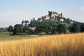 Village médiéval de Turenne Corrèze ; Ancienne capitale de la Vicomté, ce village est classé parmi les plus beaux villages de France.