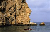Raid Kayak of sea Mascate-Sour Coast of Oman Sultanate of Oman
