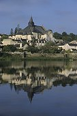 Church of Candes Saint Martin in the Loire