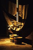 Barrel from the distillery of the Grande Chartreuse Voiron