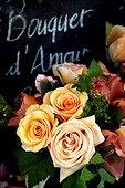 Bouquet de roses modernes pour la Saint Valentin