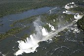 Seen on the falls of Iguaçu with dimensions Brazilian Argentina [AT]