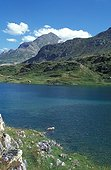 Artificial lake of Ossoue above Gavarnie France