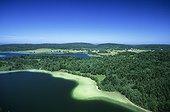 Lake Maclu and Lake Illay in the Jura France