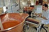 Artisanal manufacture of jam of Climont Ranrupt France 67
