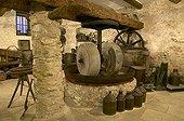 Vue d'ensemble du moulin oléicole d'Autrand
