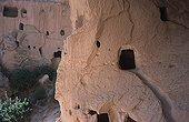 Rupestral dwellings paléochrétiennes Zelve Turkey