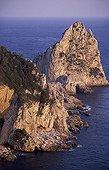 Ile de Capri, les falaises.
