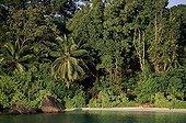 Mahé beach Seychelles archipelago