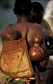 Woman Koma doyo carrying her child Mounts Alantika Nigeria