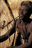 Man Koma doyo smoking the pipe Mounts Alantika Nigeria