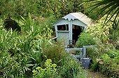 Cabane pour les enfants au Jardin de la Pomme d'Ambre