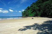 Untouched sandy beach Cocos Island Costa Rica
