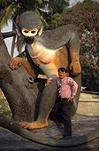 The billionaire with the monkeys patron of the Temple Lop Buri
