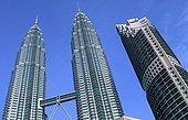 The Petronas turns in Kuala-Lumpur Malaysia