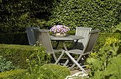 Garden furniture in june