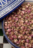 Dry roses in a bowl Morocco