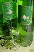 Angelica liqueur bottles France