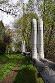 Pipes of factory Liberec Czech Republic ; Region : Liberec