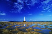 Banks lighthouse at Sandy Cordouan in the estuary France