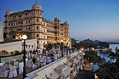 Fateh Prakash Palace built on the shore of Lake Pichola