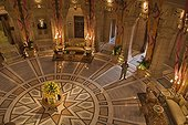 Central Hall of luxurious Umaid Bhwan Palace India