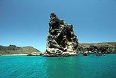 Tuff volcanic cone Pinnacle Rock Bartolomé Island Galapagos