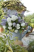 Bouquet of Cranberry and Lilac flowers Provence France