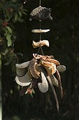 Small seeds mobile hanging at Jardin du fond de l'or
