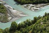 La Durance et sa forêt alluviale Parc National des Ecrins