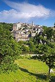 Village of Balazuc Ardèche France