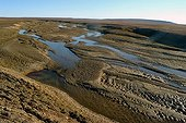River in the heart of the tundra Bathurst Island Canada