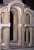 Model of Saint Foy¹s church