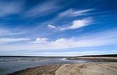 Delta of a river on Bathurst island Canada