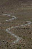 Piste en montagne dans le Haut Atlas au Maroc