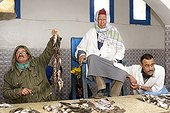 Sale of fish at the auction of Houmt Souk-Djerba Tunisia
