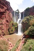 Overview of waterfalls in Morocco