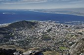 Cape Town vue depuis Table Mountain Afrique du Sud