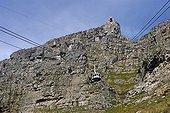 Téléphérique accédant au sommet de la Montagne de la Table