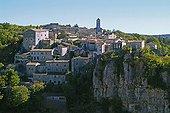 Village of Balazuc Ardèche Franche