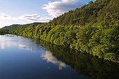 River Le Chassezac in Monts d'Ardèche National Park France