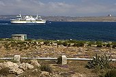 Ferry linking Malta and Gozo