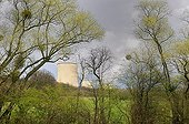 Cattenom nuclear thermal power station France